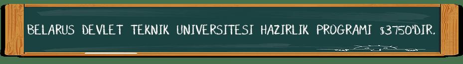 belarus devlet teknik universitesi hazırlık programı