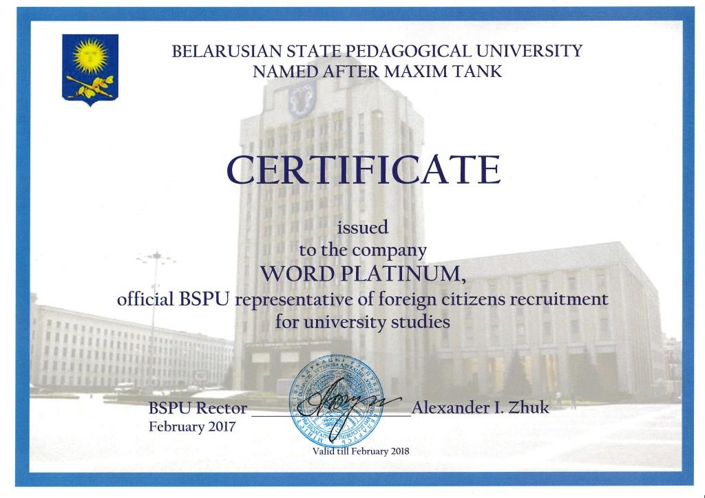 bgpu yetki sertifikası